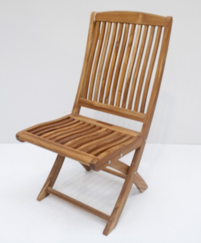 Indonesian Teak Folding Chair Salvador