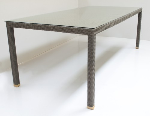 Synthetic Wicker Trend Dining Table 220 F60L