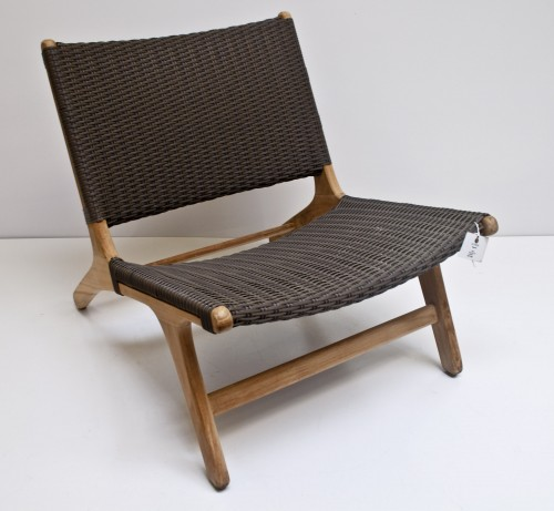 Synthetic Wicker Bliss Lounge Chair F97